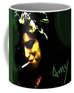 Amy Green And Black  Coffee Mug