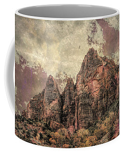 Coffee Mug featuring the photograph An Abstract Of Zion by John M Bailey