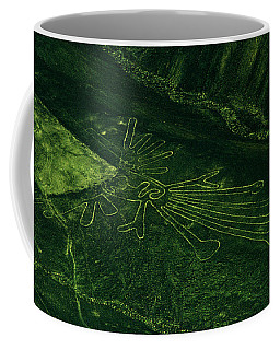 An Aerial View Of The Nazca Lines. They Coffee Mug