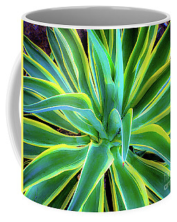 An Agave In Color  Coffee Mug