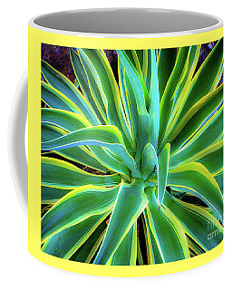 Coffee Mug featuring the photograph An Agave In Color  by D Davila