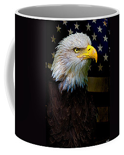 Coffee Mug featuring the photograph An American Icon by Chris Lord