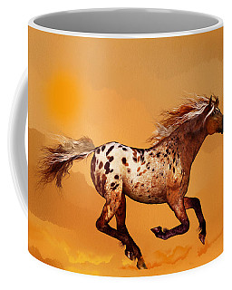 An Appaloosa Called Ginger Coffee Mug