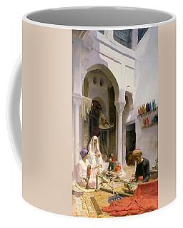 An Arab Weaver Coffee Mug