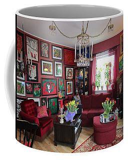 An Artists Livingroom Coffee Mug