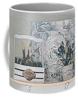 An Artist's Shelf Coffee Mug