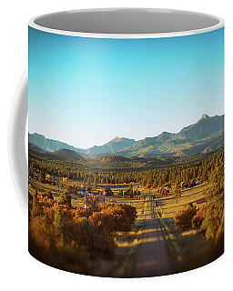 An Autumn Evening In Pagosa Meadows Coffee Mug