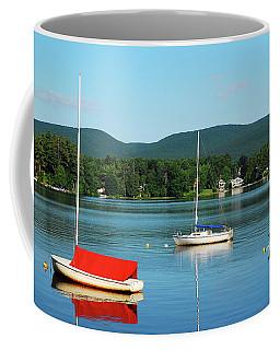 An Early Calm On A Berkshire Lake Coffee Mug