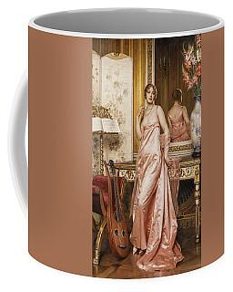 An Elegant Lady In An Interior Coffee Mug