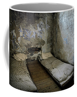 Coffee Mug featuring the photograph An Empty Cell In Cork City Gaol by RicardMN Photography