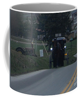 An Evening Commute Coffee Mug