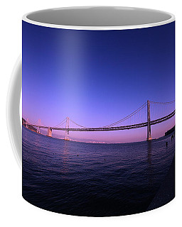 Coffee Mug featuring the photograph An Evening In San Francisco  by Linda Edgecomb