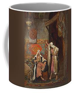 An Idle Conversation, 1872 Coffee Mug