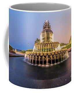 An Illuminated Pineapple Coffee Mug by Robert Loe