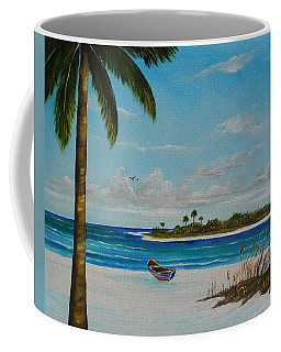 An Island In Paradise Coffee Mug