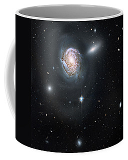 Coffee Mug featuring the photograph An Island Universe In The Coma Cluster by Nasa