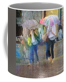 Coffee Mug featuring the photograph An Odd Sharp Shower by LemonArt Photography