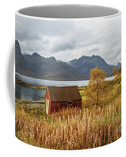 An Old Boathouse Coffee Mug