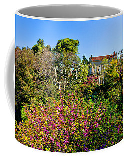 An Old House In Provence Coffee Mug by Olivier Le Queinec