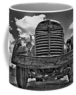An Old International Truck Coffee Mug