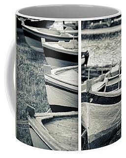 An Old Man's Boats Coffee Mug