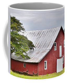 An Old Red Barn Coffee Mug