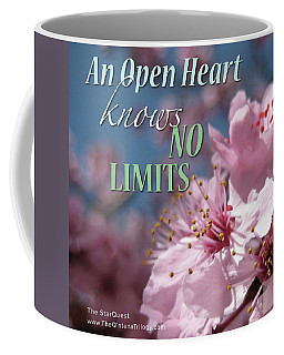An Open Heart Knows No Limits Coffee Mug