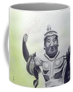Coffee Mug featuring the painting An Oriental Statue At Toledo Art Museum - Ohio by Yoshiko Mishina