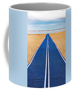 Coffee Mug featuring the photograph An Uncommon Path by Paul Wear