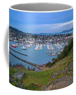 Coffee Mug featuring the photograph Anacortes Peaceful Morning by Ken Stanback