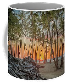 Anaehoomalu Beach Sunset Coffee Mug