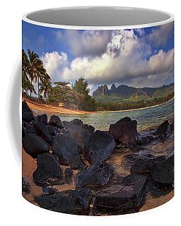 Coffee Mug featuring the photograph Anahola Beach Park On The Island Of Kauai, Hawaii by Sam Antonio Photography