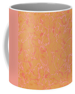 Analogous Dribble Painting Coffee Mug