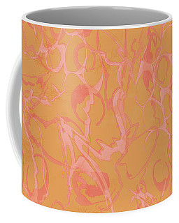 Analogous Dribble Painting Coffee Mug