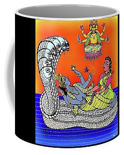 Anantha Sayanam-patta Chitra Style Coffee Mug