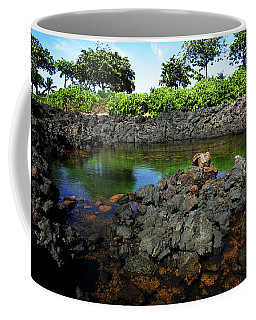 Coffee Mug featuring the photograph Anchialine Pond by Anthony Jones