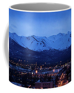 Anchorage At Sunrise Coffee Mug