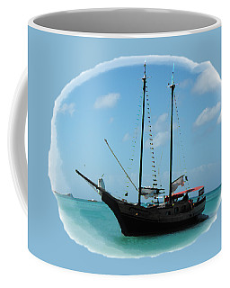 Anchored Coffee Mug by David and Lynn Keller