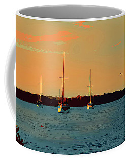 Anchored In For The Night Coffee Mug