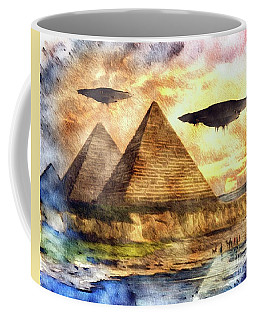 Ancient Aliens And Ancient Egypt Coffee Mug