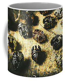 Ancient Battlefield Armour Coffee Mug