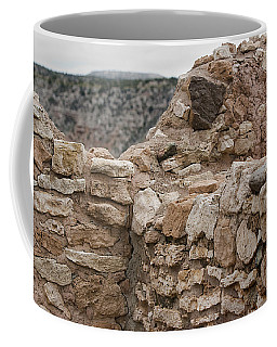 Coffee Mug featuring the photograph Ancient Buildings by Phyllis Denton