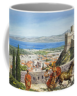 Ancient Corinth Coffee Mug