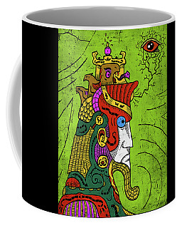 Coffee Mug featuring the digital art Ancient Egypt Pharaoh by Sotuland Art