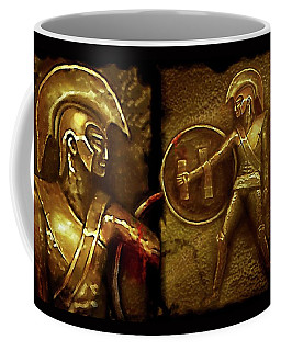 Ancient Heroes Or . . .  Coffee Mug by Hartmut Jager