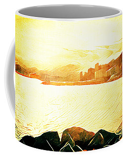 Ancient Marina Coffee Mug by Andrea Barbieri