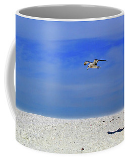 Coffee Mug featuring the photograph Ancient Mariner by Marie Hicks