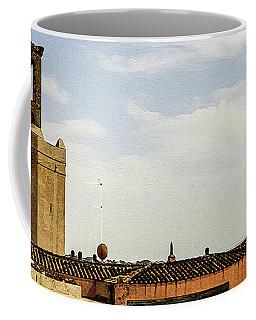 Ancient Moorish Citadel In Badajoz, Spain Coffee Mug