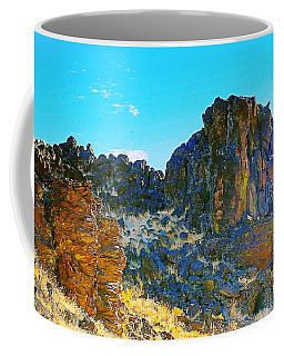 Ancient Oregon Landscapes Coffee Mug
