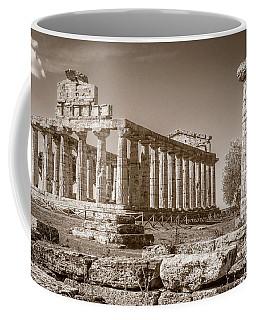 Ancient Paestum Architecture Coffee Mug